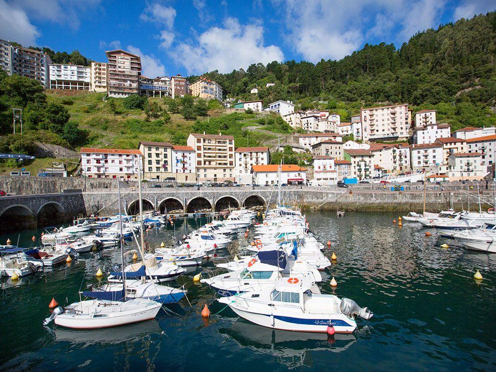 Los pueblos más bonitos de la Costa Vasca - Elantxobe - Puerto