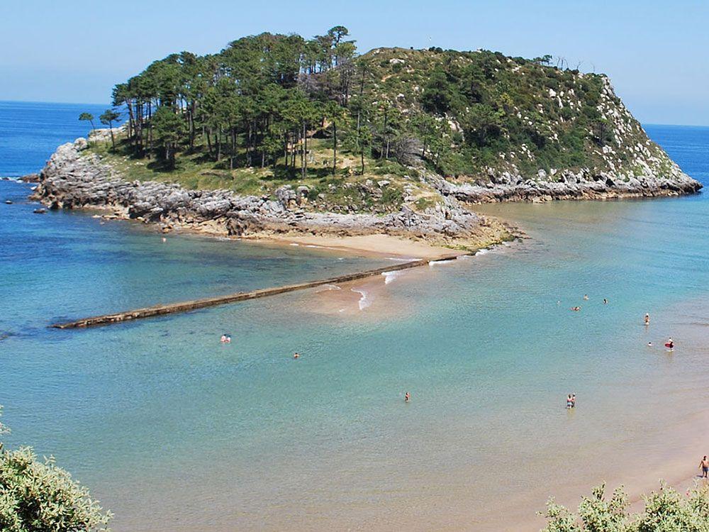 Los pueblos más bonitos de la Costa Vasca - Lekeitio - Isla de San Nicolás