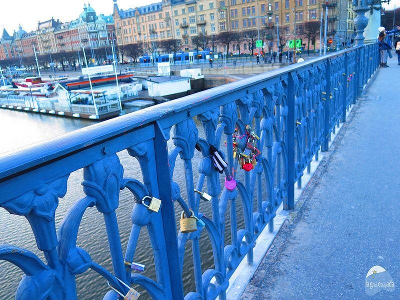 Qué ver en Estocolmo en 1 dia - Puente del amor