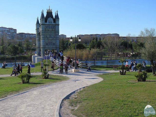 Monumento Puente de Londres del Parque Europa Madrid