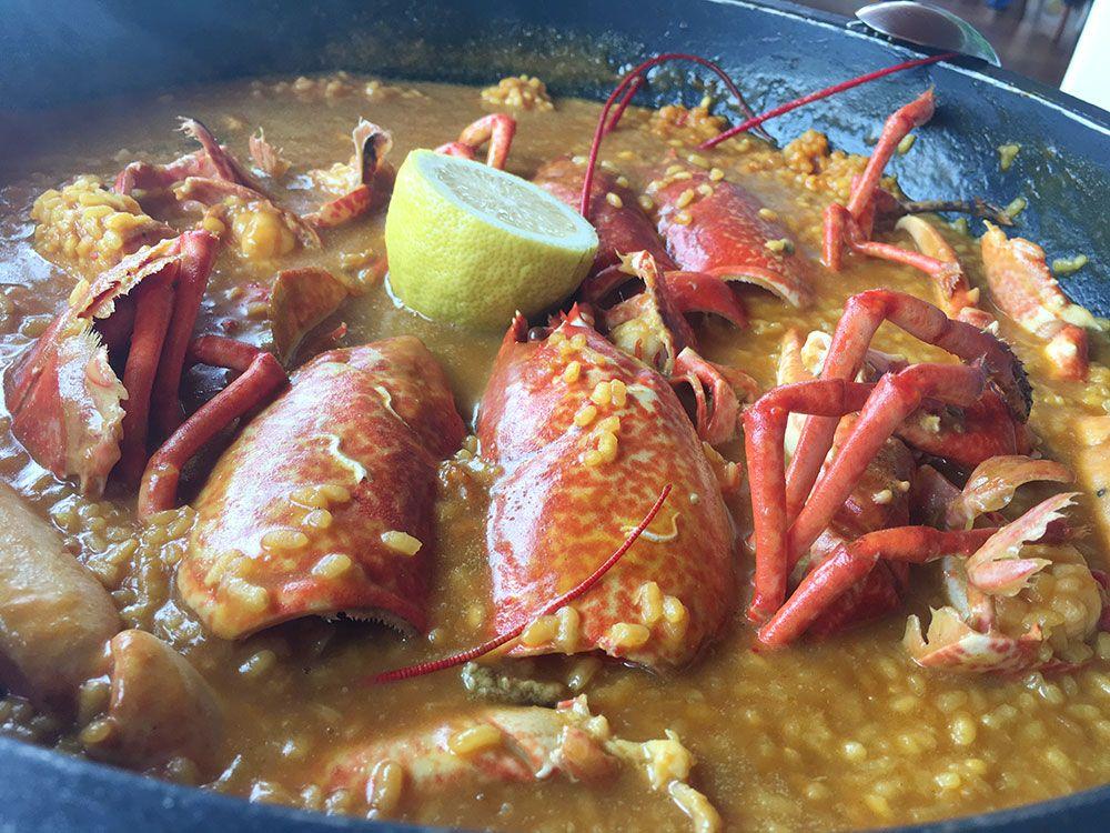 Qué y dónde comer en Galicia - Arroz con bogavante
