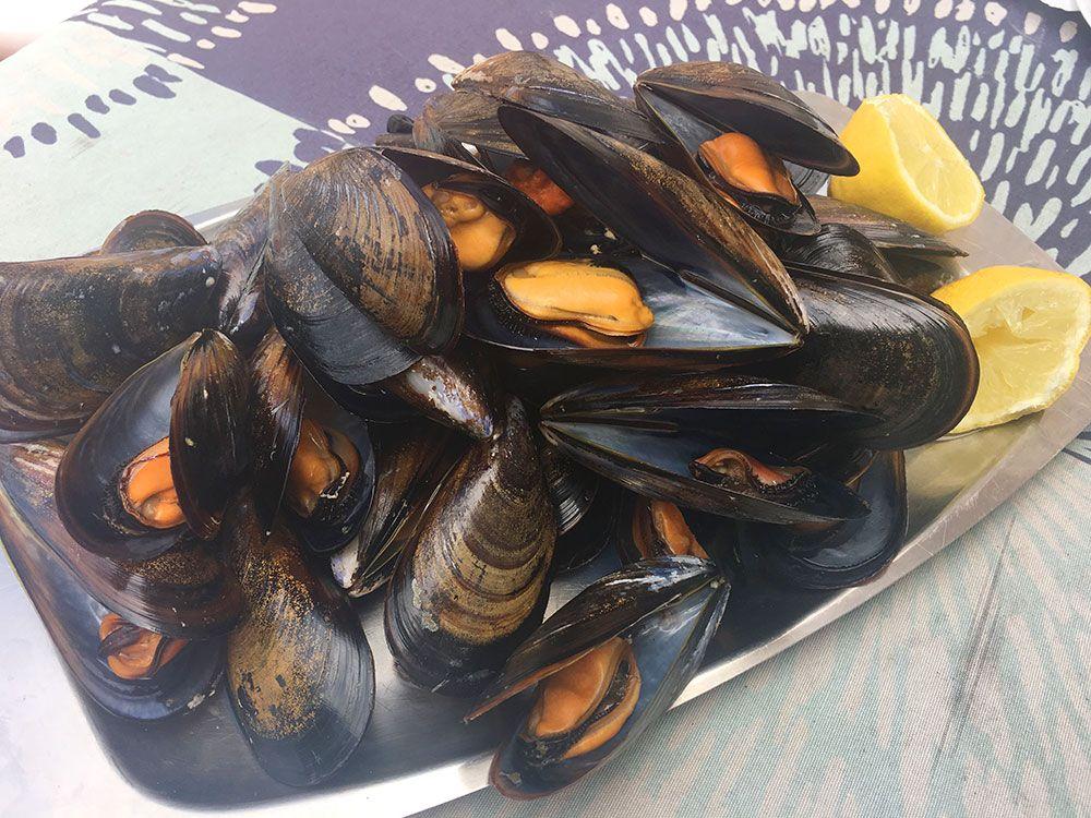 Qué y dónde comer en Galicia - Mejillones