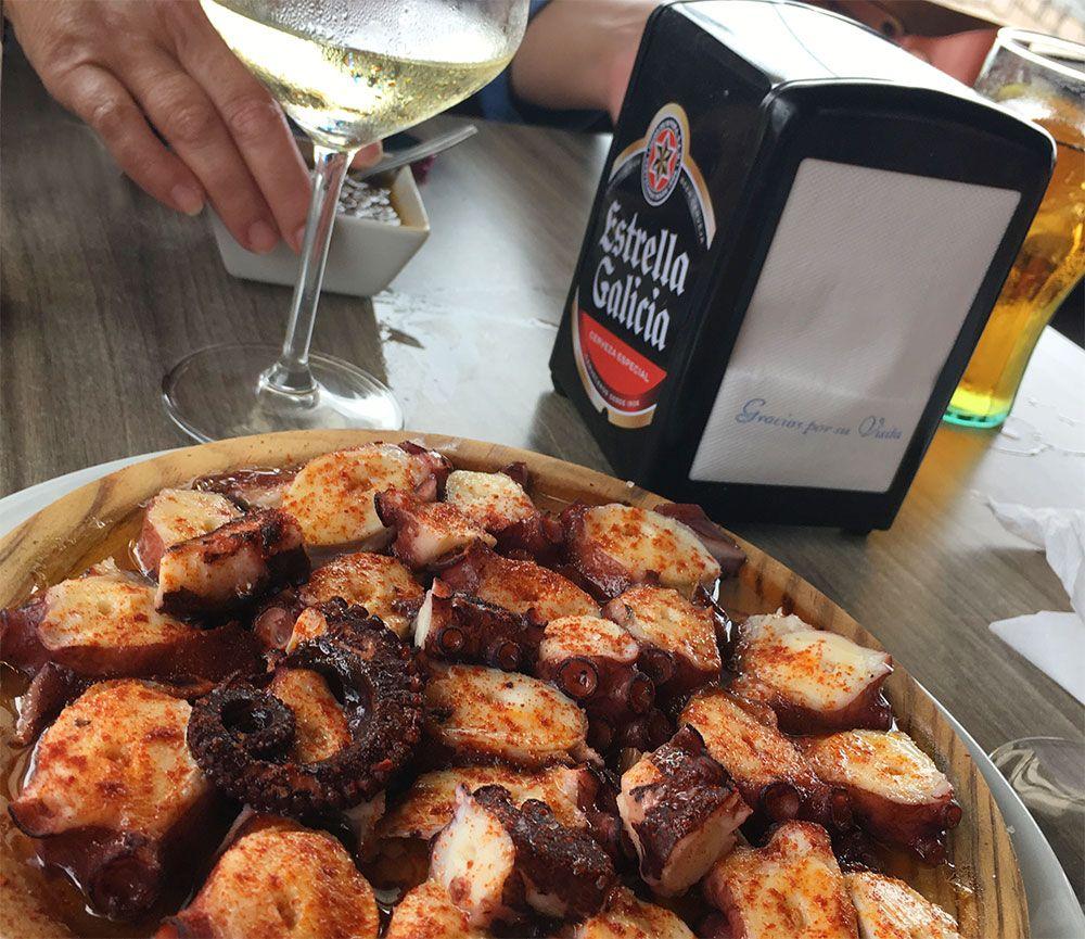 Qué y dónde comer en Galicia - Pulpo