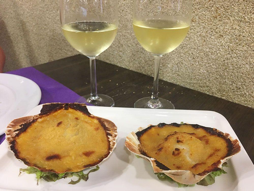 Qué y dónde comer en Galicia - Vieiras