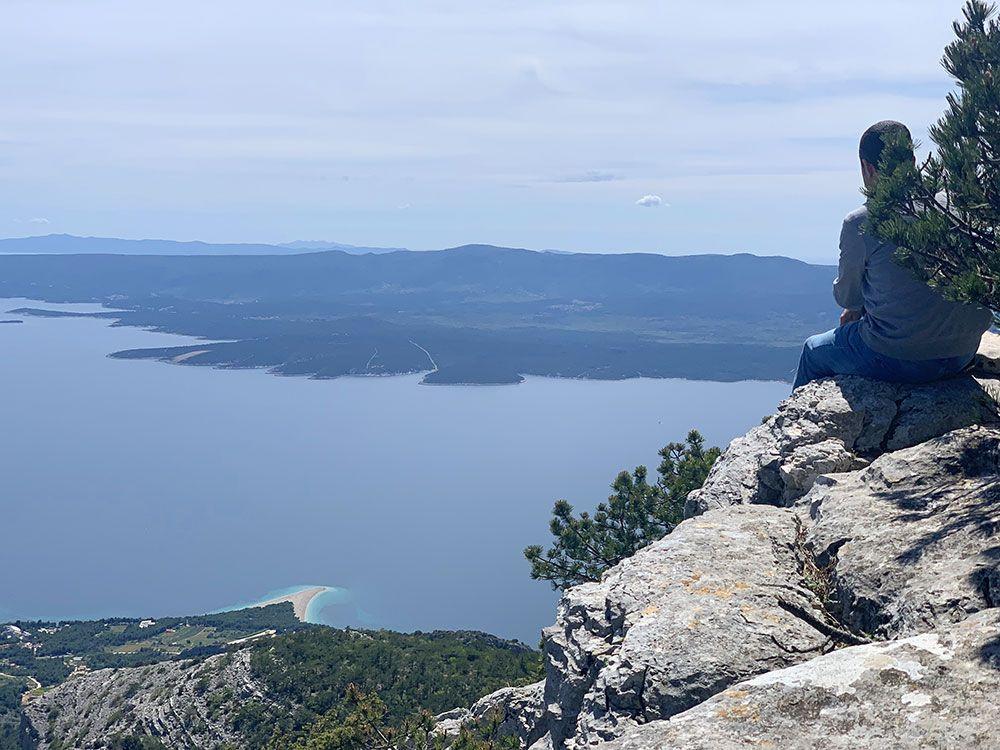 Vistas desde el Monte Vidova Gora