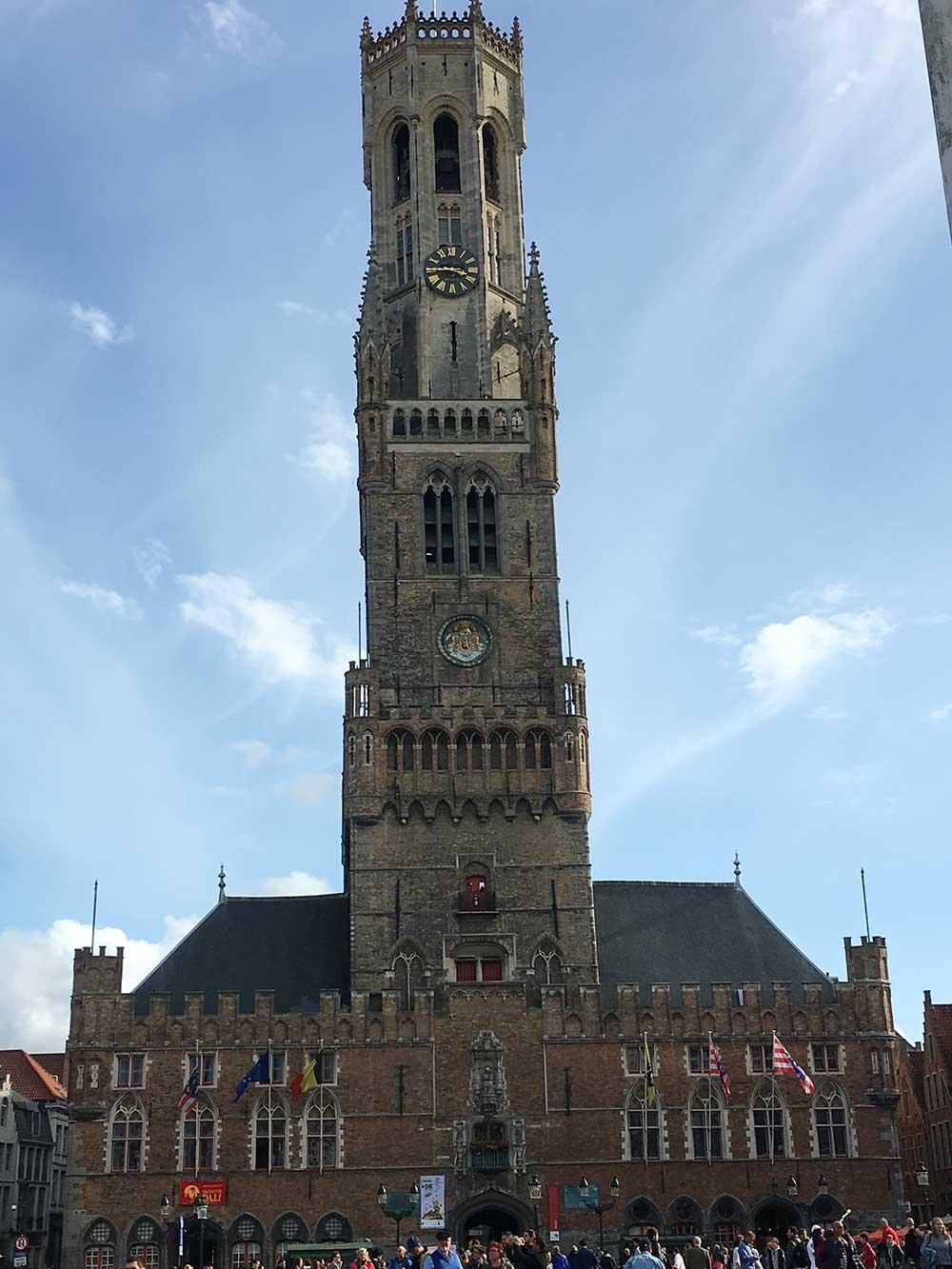 Qué ver en Brujas - Torre Belfort