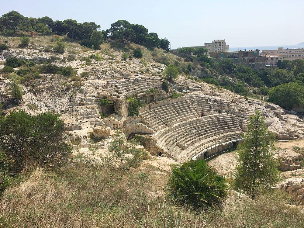 Qué ver en Cerdeña - Anfiteatro Romano