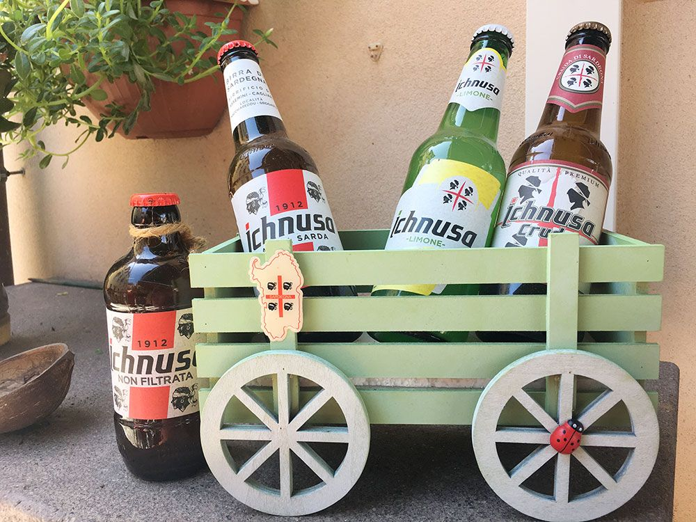 Qué ver en Cerdeña - Cerveza Ichnusa