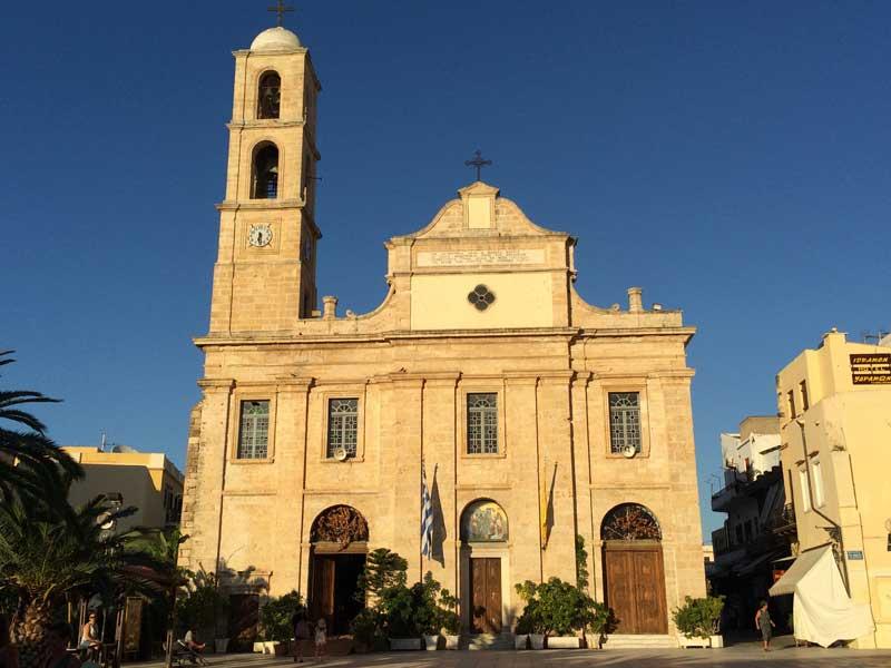 Qué ver en Chania - Catedral