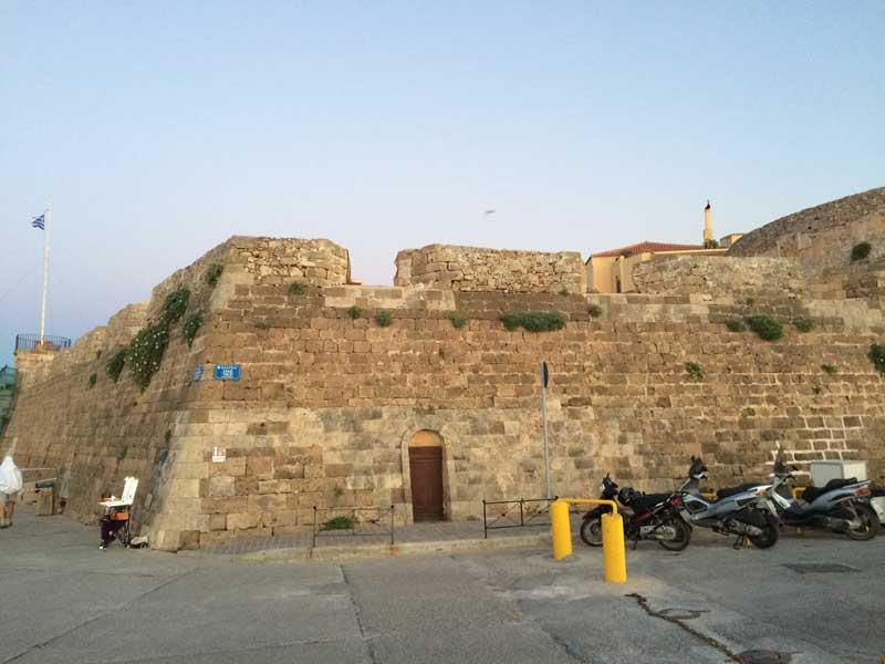 Qué ver en Chania - Fortaleza de Firklas