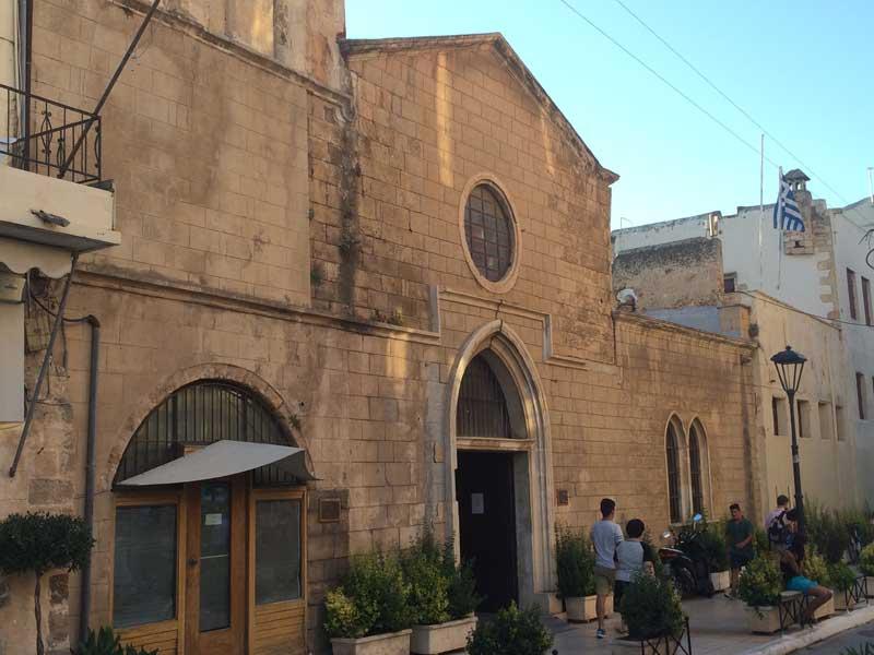 Qué ver en Chania - Fachada de la Iglesia veneciana de San Francisco