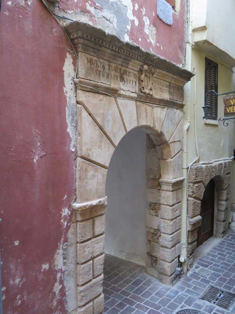 Qué ver en Chania - Puerta veneciana Renieri