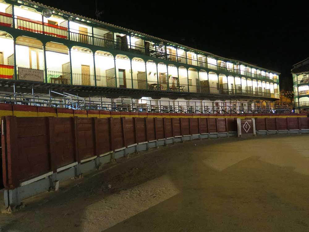 Plaza Mayor de Chinchón de noche
