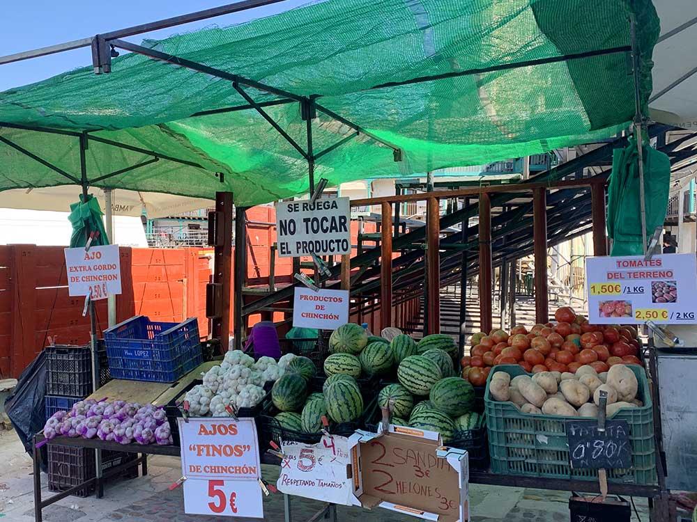 Productos locales de Chinchón