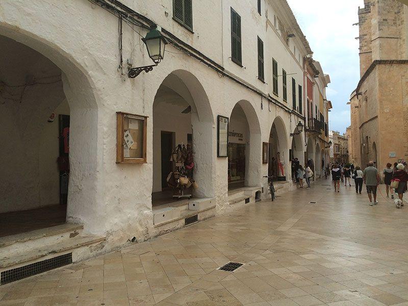 Que ver en Ciutadella - Calle Ses Voltes
