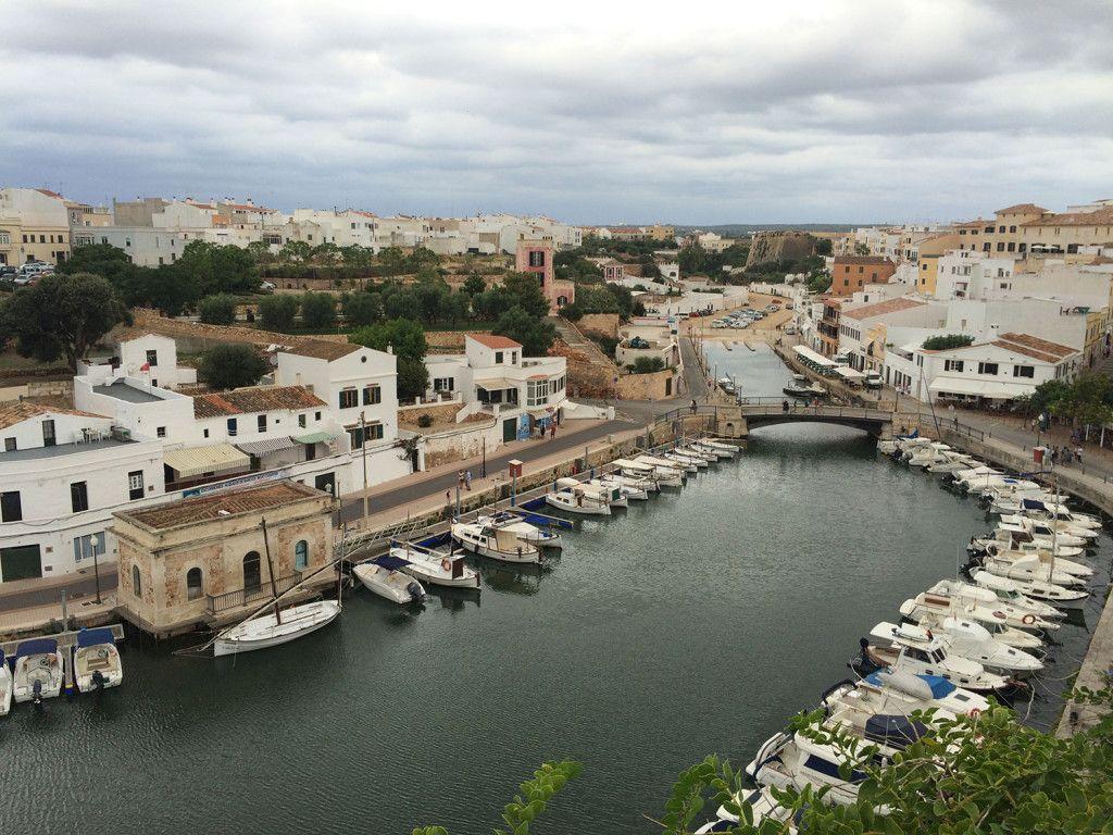 Que ver en Ciutadella - Puerto de la Ciutadella de Menorca desde el mirador del Ayuntamiento