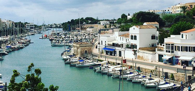 Puerto de la Ciutadella de Menorca.