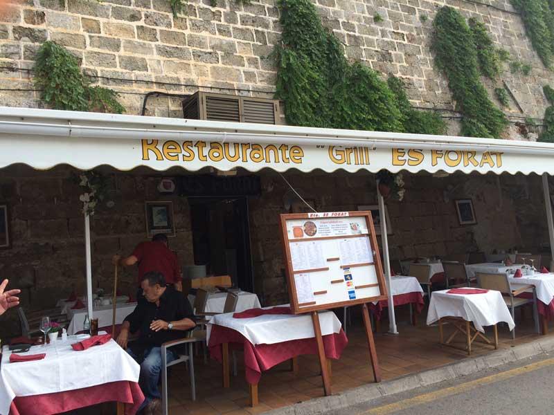 Que ver en Ciutadella - Restaurante Es Forat