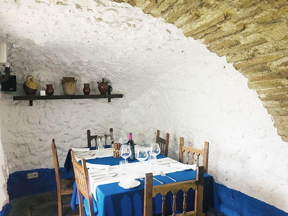 Qué ver en Consuegra - Restaurante La Tercia - Cueva