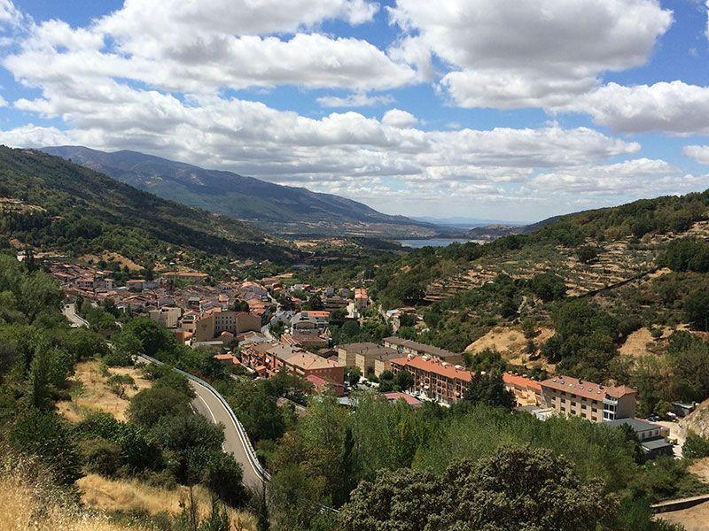 Qué ver en el Valle del Ambroz - Extremadura - Vistas de Baños de Montemayor