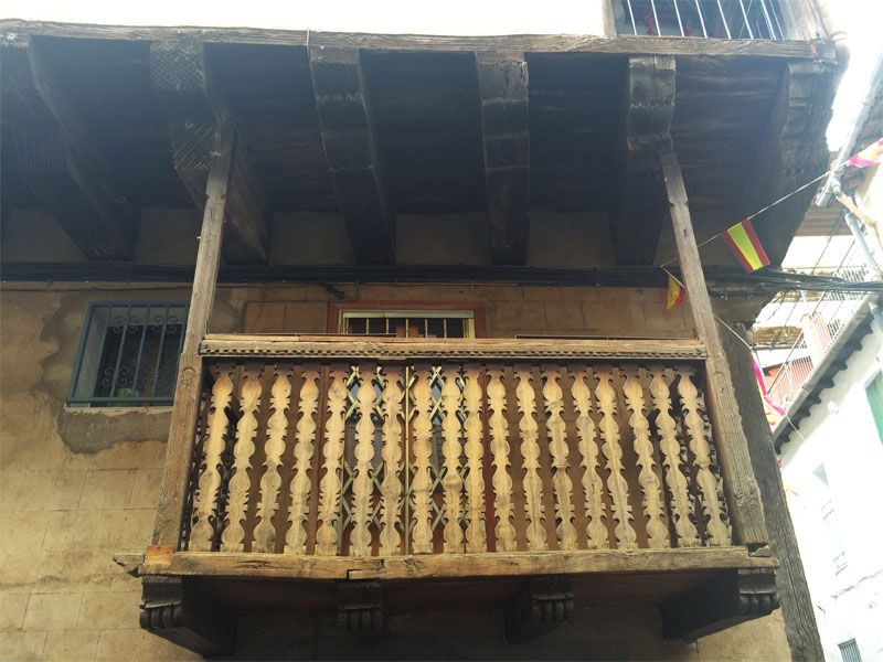 Qué ver en Garganta La Olla - Balcón en el Barrio de la Huerta