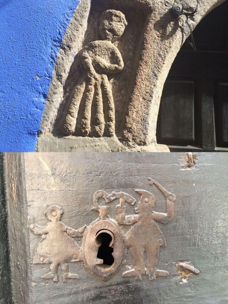Qué ver en Garganta La Olla - Detalles de la Casa de las muñecas