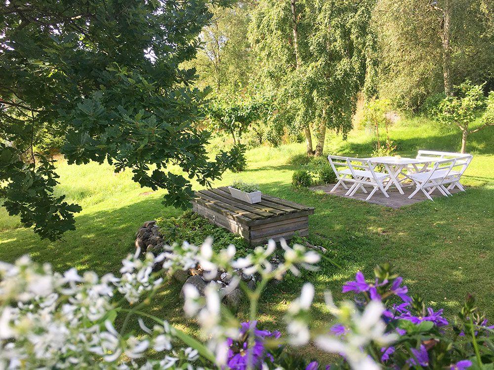 Qué ver en Gotemburgo - Jardines del alojamiento Styrsö Scaret