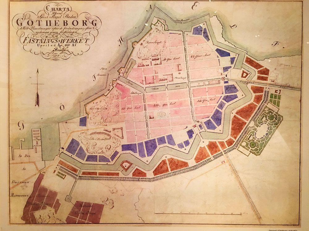 Qué ver en Gotemburgo - Plano