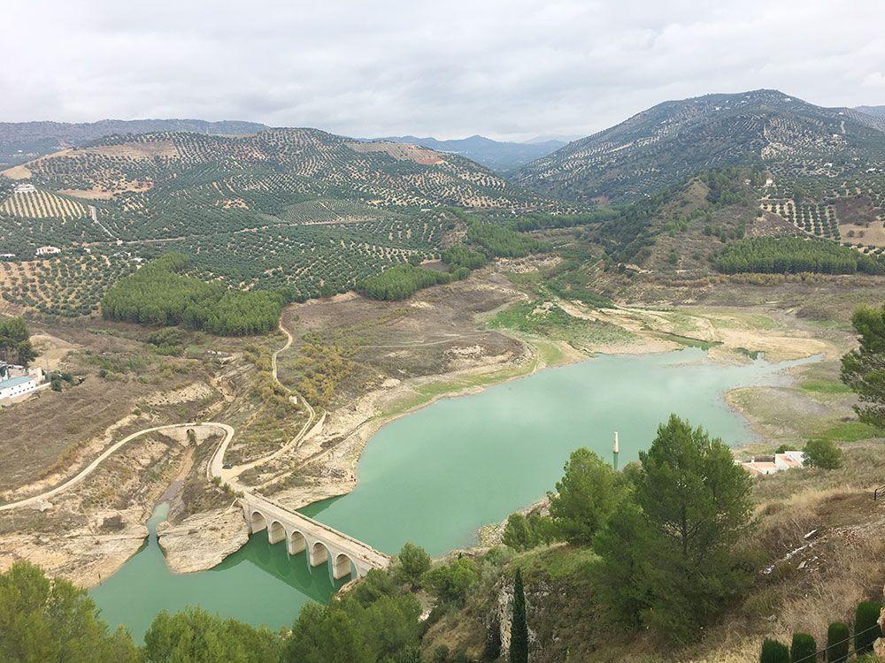 Qué ver en Iznájar - Vistas del Embalse