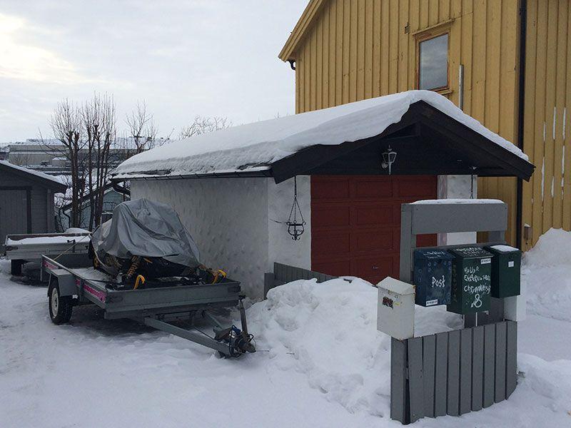 Qué ver en Kirkenes - Laponia Noruega - Moto de nieve
