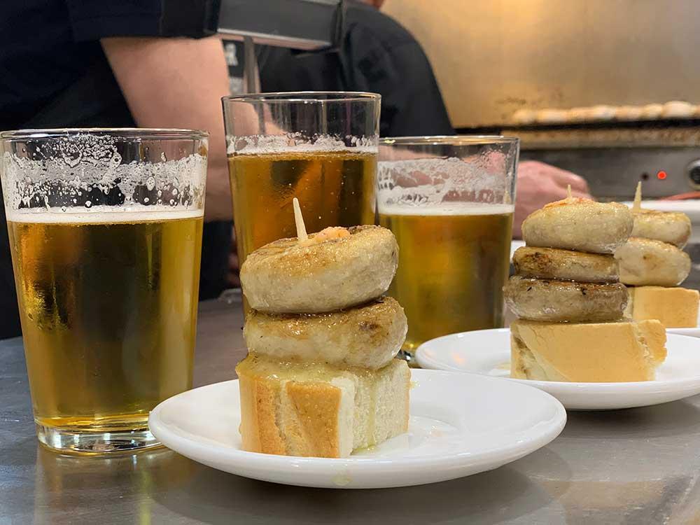 Los mejores pinchos de Logroño - Bar El Soriano - Champis