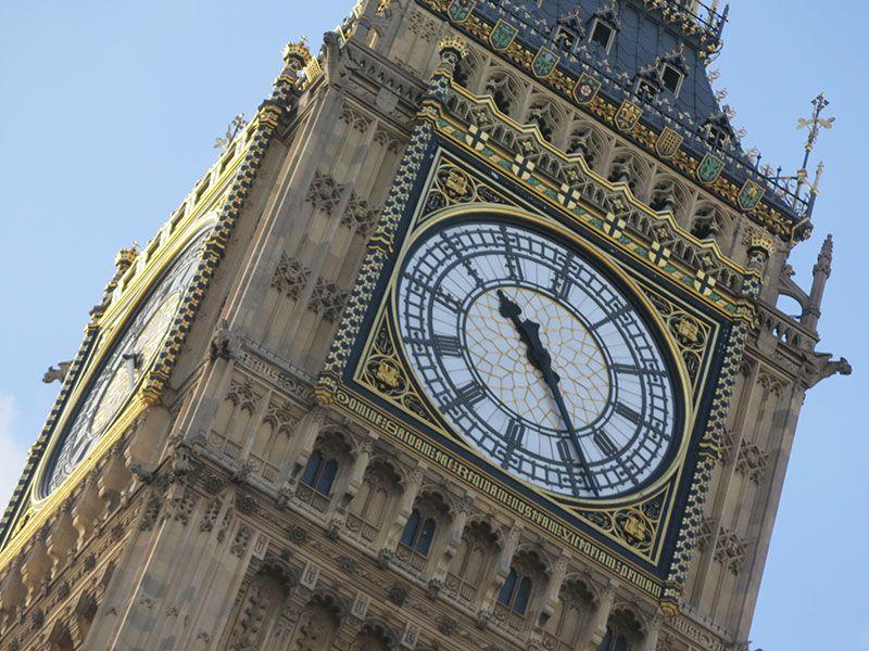 Qué ver en Londres en dos días - Iconos de la ciudad - Reloj del Big Ben