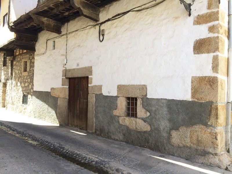 Qué ver en Losar de La Vera - Casco antiguo - Fachada