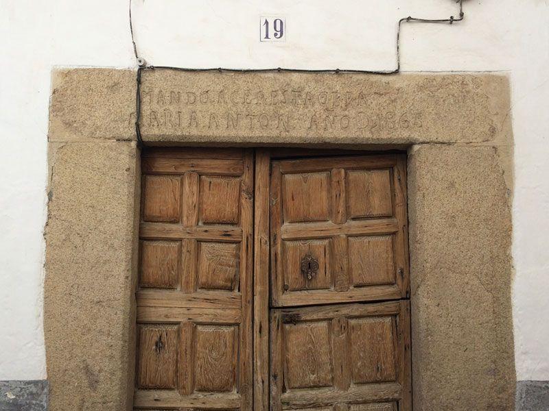 Qué ver en Losar de La Vera - Casco antiguo - Puerta