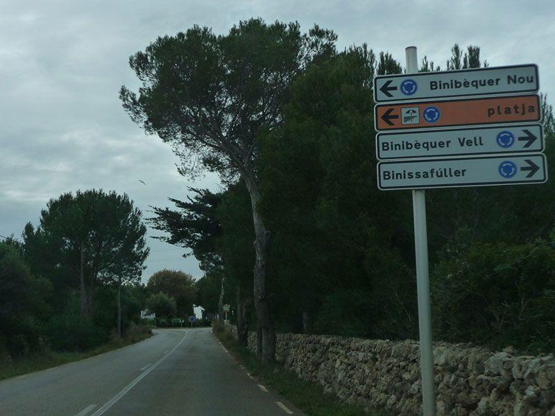 Qué ver en Menorca - Binibeca, pueblo de pescadores - Indicaciones