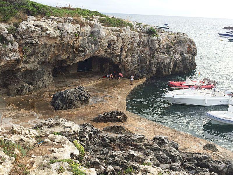 Qué ver en Menorca - Binibeca, pueblo de pescadores - Calita en Binibequer