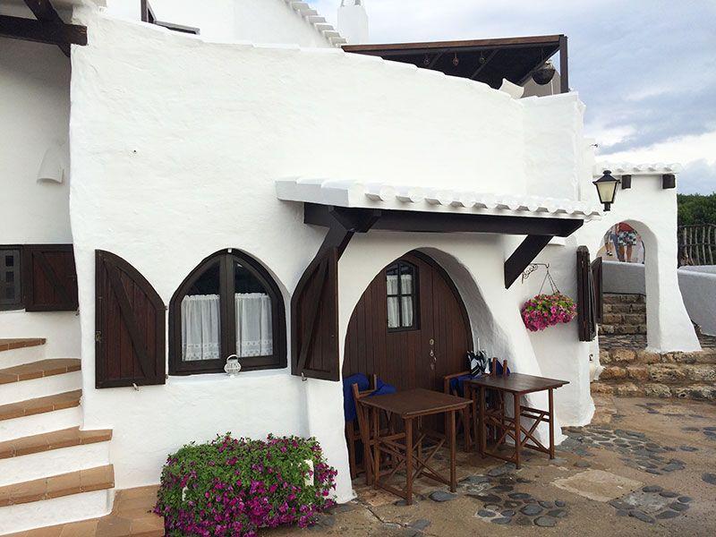 Qué ver en Menorca - Binibeca, pueblo de pescadores - Casita