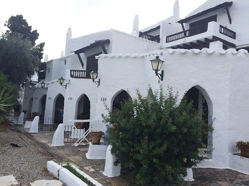 Qué ver en Menorca - Binibeca, pueblo de pescadores - Casas adosadas