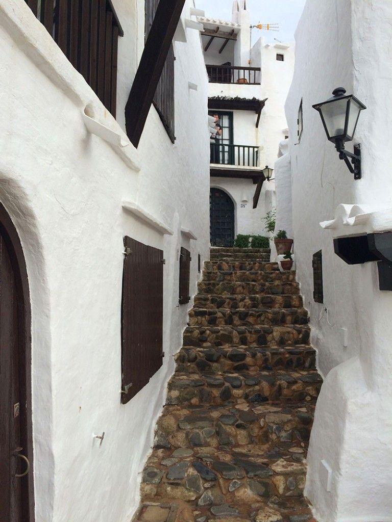 Qué ver en Menorca - Binibeca, pueblo de pescadores - Escalera