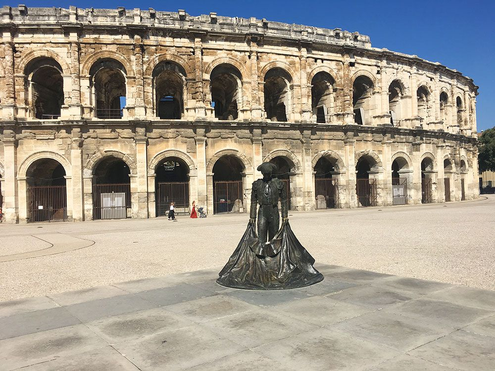 Qué ver en Nîmes - Anfiteatro Les Arènes