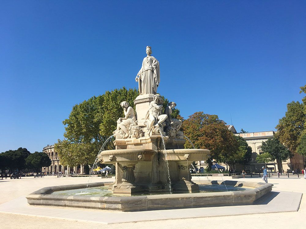 Qué ver en Nîmes - Fuentes