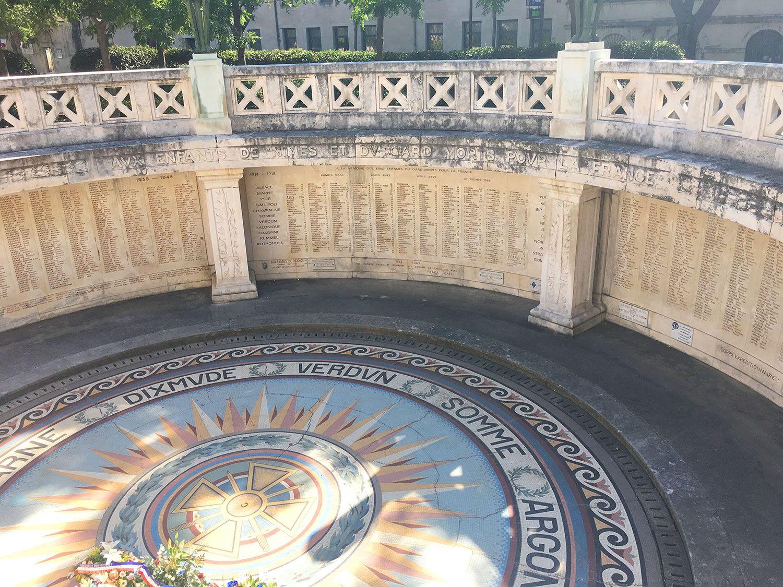 Qué ver en Nîmes - Plazas