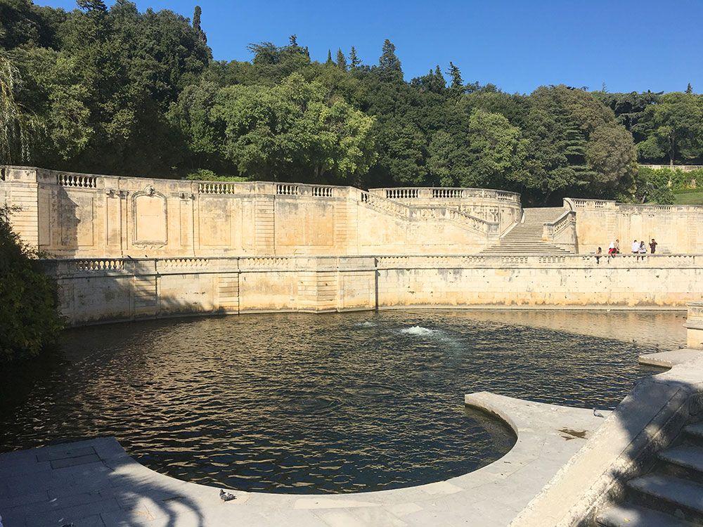 Qué ver en Nîmes - Jardins de la Fontaine