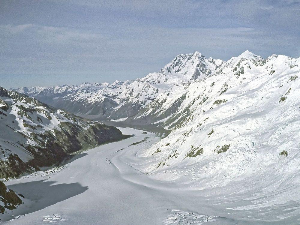 Qué ver en Oceanía - Glaciares de Nueva Zelanda