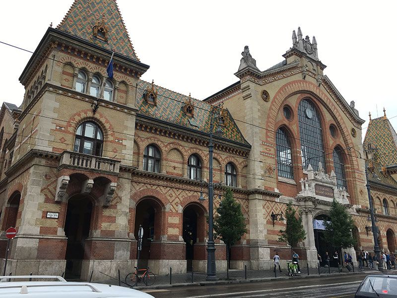 Qué ver en Pest - Budapest - Mercado Central