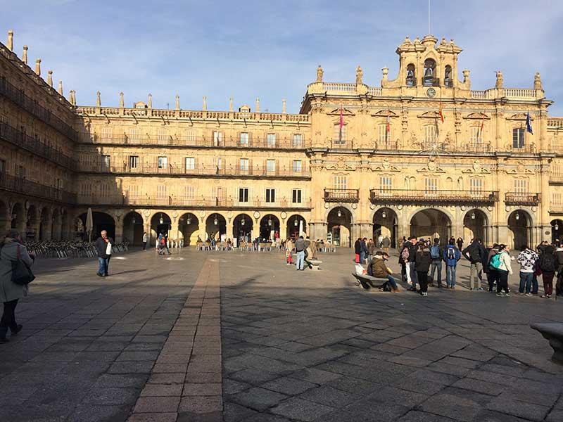 Qué ver en Salamanca en un día - Plaza Mayor de Salamanca