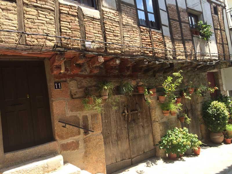Qué ver en San Martín de Trevejo - Fachadas