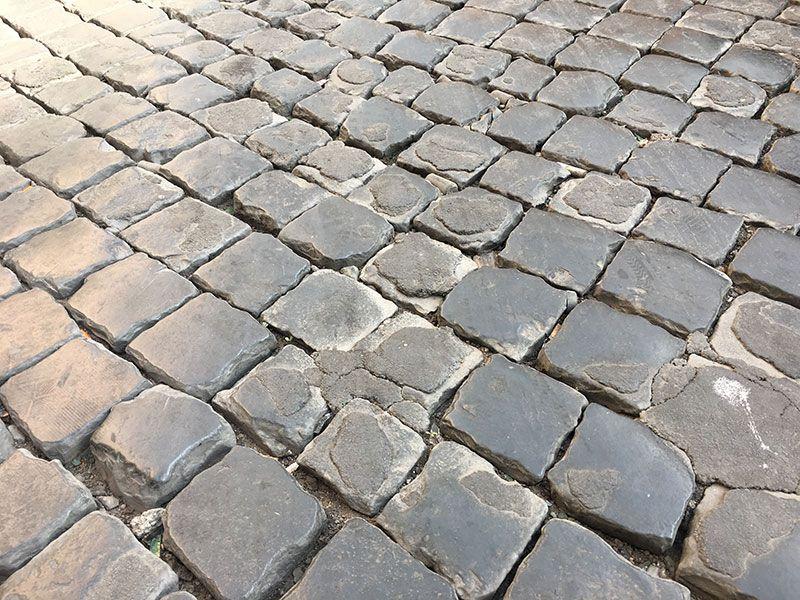 Qué ver en Trastevere - Roma - Adoquinado