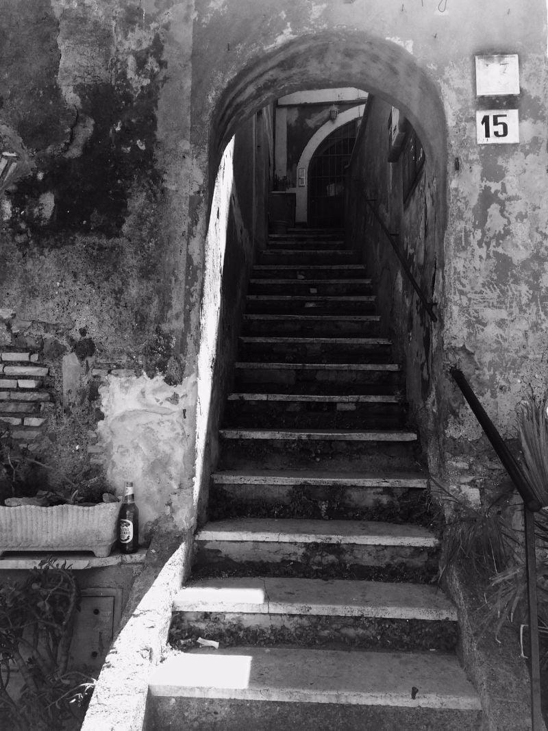 Qué ver en Trastevere - Roma - Escaleras