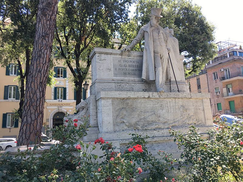 Qué ver en Trastevere - Roma - G.G. Belli